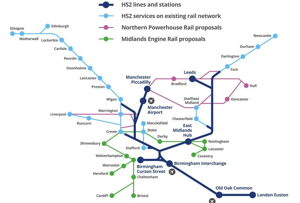 Government urged to restore confidence in levelling-up agenda by investing in HS2's Eastern Leg